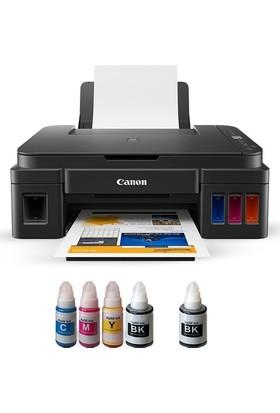 Canon Photoink Mürekkepli Canon Pıxma G3411 Yazıcı Ve Bitmeyen Kartuş Sistemi