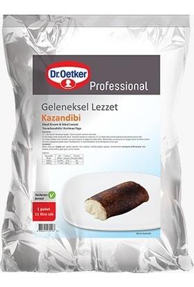 Dr. Oetker Kazandibi 3 kg (Yakma Poşetli İlaveli)