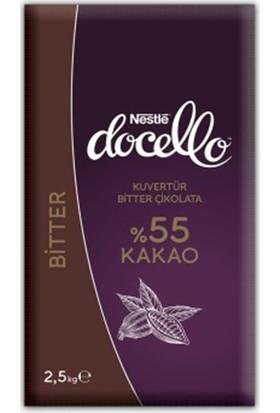 Nestlé Docello Bitter Kuvertür 2,5 kg
