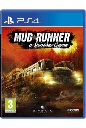 Focus Mud Runner Ps4 Oyun