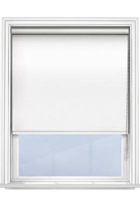 Güneş Perde Brillant Beyaz Karartma Stor 60 x 200 cm