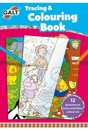 Tracing & Colouring Book 5 Yaş+