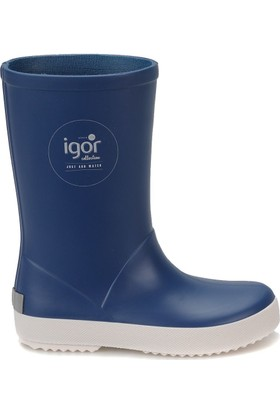 Igor W10107 Splash Nautico-050 Mavi Unisex Çocuk Yağmur Çizmesi