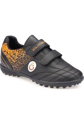 Gs Doria J Turf Gs Siyah Sarı Erkek Çocuk Halı Saha Ayakkabısı