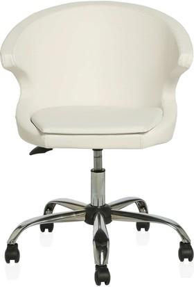 Şen Metal Ofis Koltukları Beyaz