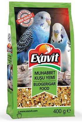Exovit Muhabbet Kuşu Yemi 400gr