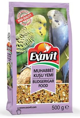 Exovit Muhabbet Kuşu Yemi