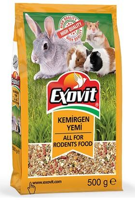 Exovit Kemirgen Yemi 500gr Tavşan Yemi Hamster Yemi