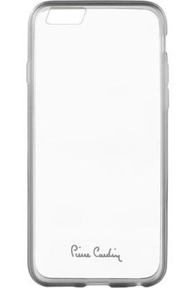 Pierre Cardin iPhone 6 Silikon Arka Koruma Paneli Gri PCZ-S05
