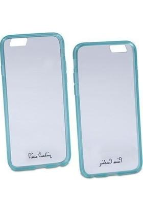 Pierre Cardin iPhone 6 Silikon Arka Koruma Paneli Yeşil PCZ-S05