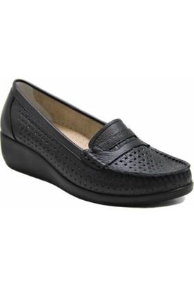 Fogs Hakiki Deri Ortopedik Kadın Ayakkabı