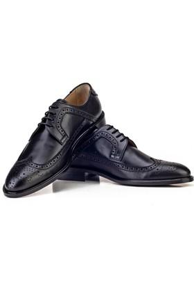 9a5803f82f607 ... Cabani Kösele Enjeksiyonlu Klasik Erkek Ayakkabı Siyah Analin Deri ...