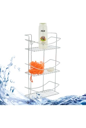 Kiwa Filiz Üç Katlı Banyo Köşeliği