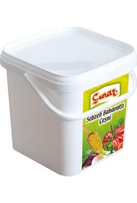 Çınar Sebzeli Baharatlı Çeşni 5 kg Edt / Vegatable Mix
