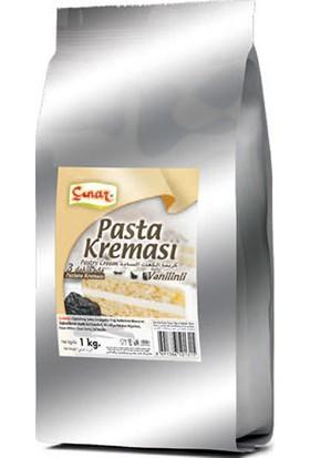 Çınar Pasta Kreması Vanilinli 1 kg