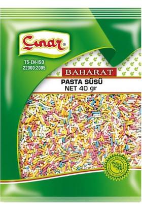 Çınar Pasta Süsü Poşet 40 gr x 10 adet