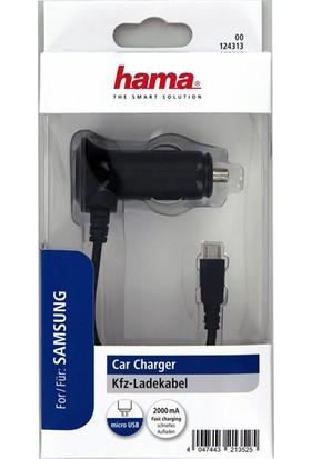 Hama Micro USB Araç Şarjı 2000 mAh HM.124313