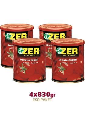 Zer Domates Salçası 830 gr x 4 Adet