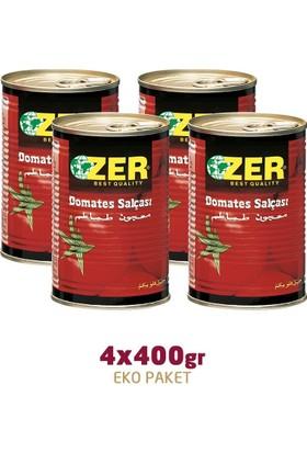 Zer Domates Salçası 400 gr x 4 Adet