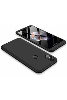 KNY Xiaomi Mi A2 (6X) Kılıf 3 Parça 360 Ays Kapak + Nano Cam Ekran Koruyucu