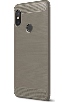 KNY Xiaomi Mi A2 Lite Kılıf Ultra Korumalı Room Silikon + Cam Ekran Koruyucu