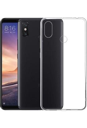 KNY Xiaomi Mi A2 Lite Kılıf Ultra İnce Şeffaf Silikon + Cam Ekran Koruyucu