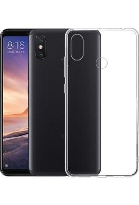 KNY Xiaomi Mi A2 Lite Kılıf Ultra İnce Şeffaf Silikon + Nano Cam Ekran Koruyucu