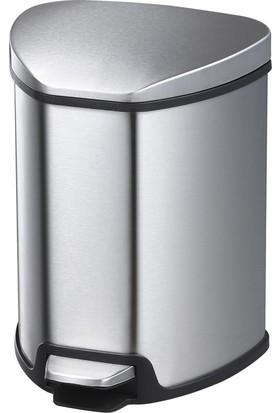 Primanova Paslanmaz Çelik Çöp Kovası 5 LT D-14678