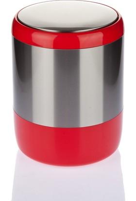 Primanova Lima Çöp Kovası Kırmızı M-E06-04