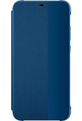 Huawei Anne P20 Lite Flip Cover - Mavi