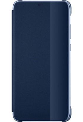 Huawei Charlotte P20 Pro Smart View Cover - Mavi
