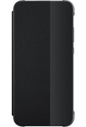 Huawei Charlotte P20 Pro Smart View Cover - Siyah