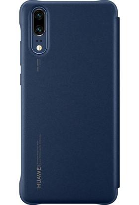 Huawei Emily P20 Smart View Cover - Mavi