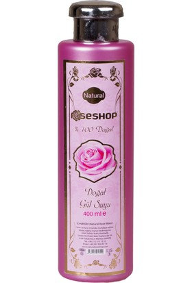 Natural Rose Shop Doğal Gül Suyu 400 ml