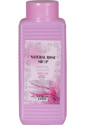 Natural Rose Shop Sentetik Gül Suyu 380 ml