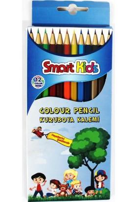 Smart Kids 12'Li Kuruboya Uzun Karton Kutuda