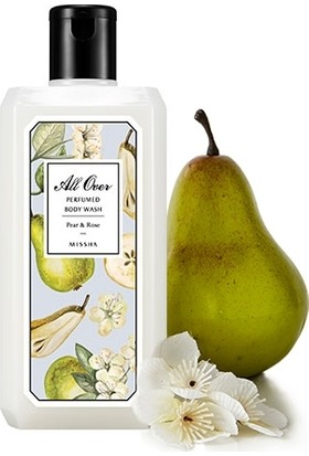 Missha All Over Perfumed Body Wash (Pear & Rose)