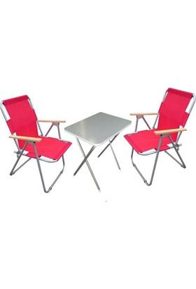 Depolife Kamp Sandalyesi Katlanır Piknik Masası