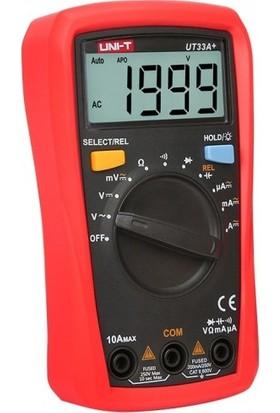 Unı-T UT33A+ 600V Dijital Multimetre