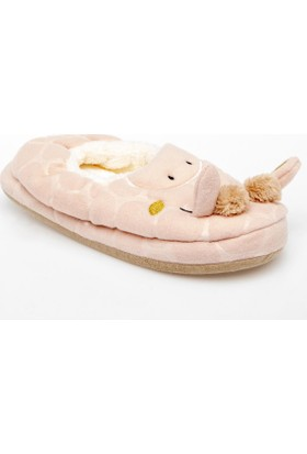 Defacto J4509Az18 Hayvan Figürlü Peluş Ev Ayakkabısı