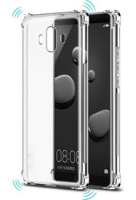 Teleplus Huawei Mate 10 Pro Darbe Koruma Silikon Kılıf Şeffaf + Nano Ekran Koruyucu