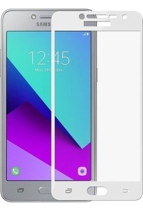 Teleplus Samsung Galaxy J2 Prime Tam Kapatan Cam Ekran Koruyucu Beyaz