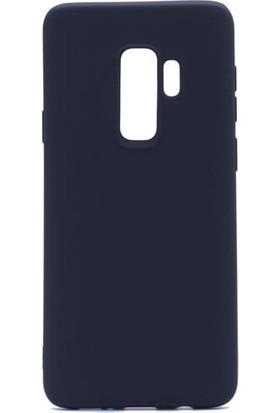 Happyshop Samsung Galaxy J8 2018 Kılıf Ultra İnce Mat Silikon+Nano Cam Ekran Koruyucu