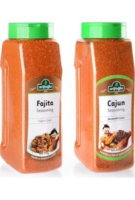 Arifoğlu Cajun Seasoning 600 gr 2 Adet (Pet)