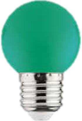 Horoz Rainbow 1W E27 Duy LED Ampül Yeşil