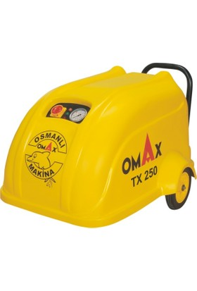 Omax Yüksek Basınçlı Oto Yıkama Makinası 250 Bar