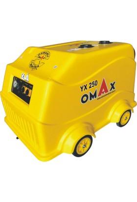 Omax Yüksek Basınçlı Sıcak - Soğuk Oto Yıkama Makinası 250 Bar