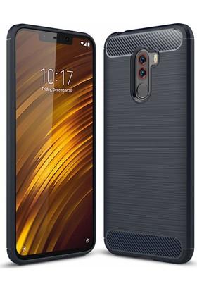 Case 4U Xiaomi Pocophone F1 Kılıf Darbeye Dayanıklı Room Arka Kapak - Lacivert