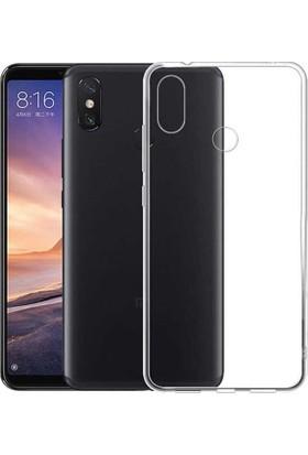 Case 4U Xiaomi Mi A2 Lite - Redmi 6 Pro Kılıf Süper Silikon Şeffaf Arka Kapak