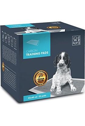 M-Pets Yavru Köpek Çiş Pedi Karbon 25 Adet 45x60Cm